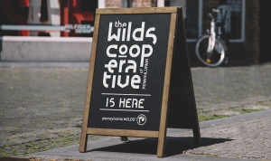 The Wilds Cooperative Sandwich Board