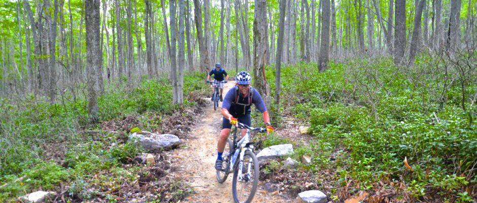 Bike Trail at Jakes Rocks