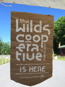 Wilds Cooperative Stencil for Signage