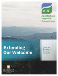 ARC 2021 Tourism Report cover