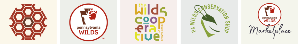 PA Wilds Center program logos